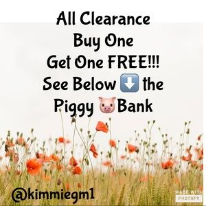 Other - BOGO FREE!!! All Clearance; Woman's, Men's & Kids!